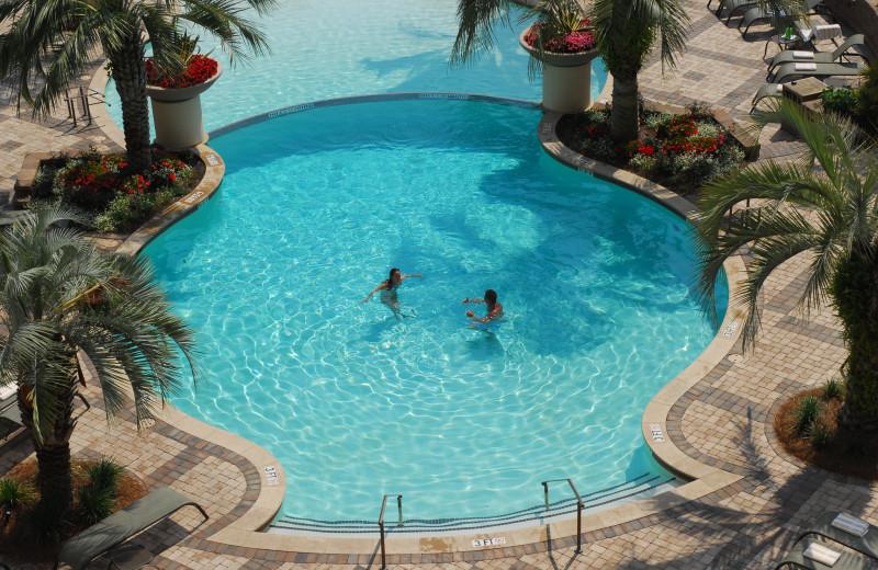 Outdoor pool at Marina Inn at Grande Dunes.