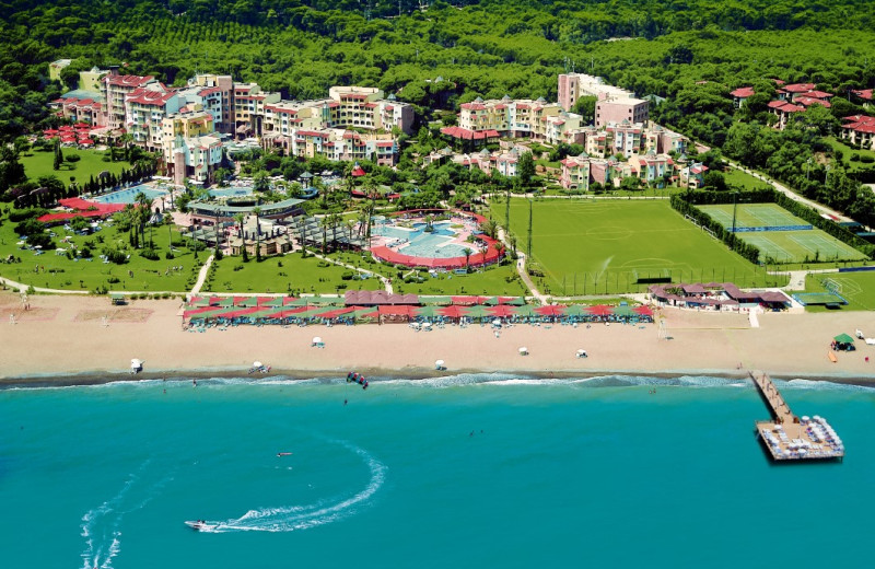 Aerial view of Limak Arcadia Golf Resort.