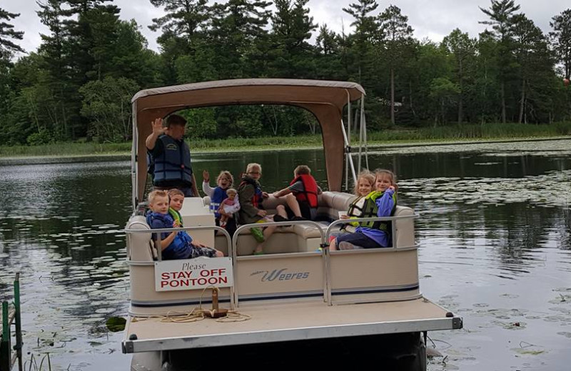 Childrens Pontoon Ride - Sunday Mornings During the Summer.
