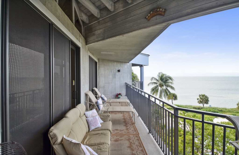 Rental balcony at At Home in Key West, LLC.