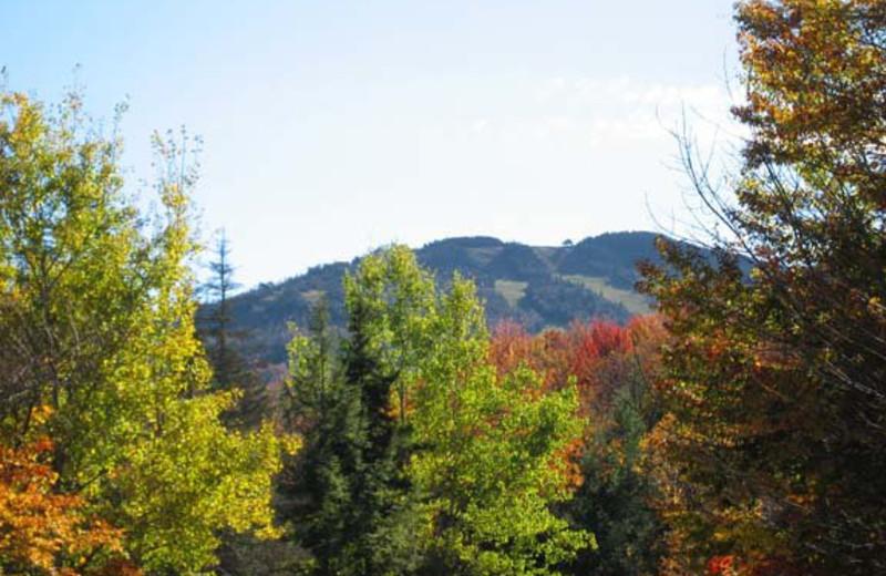 Mountain view at Birch Ridge Inn.