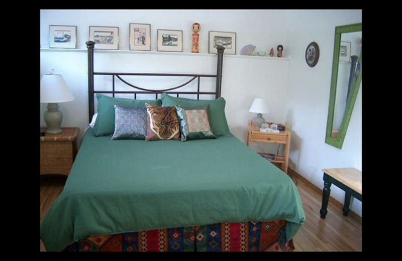 Guest room at Banff Avenue Bed & Breakfast.