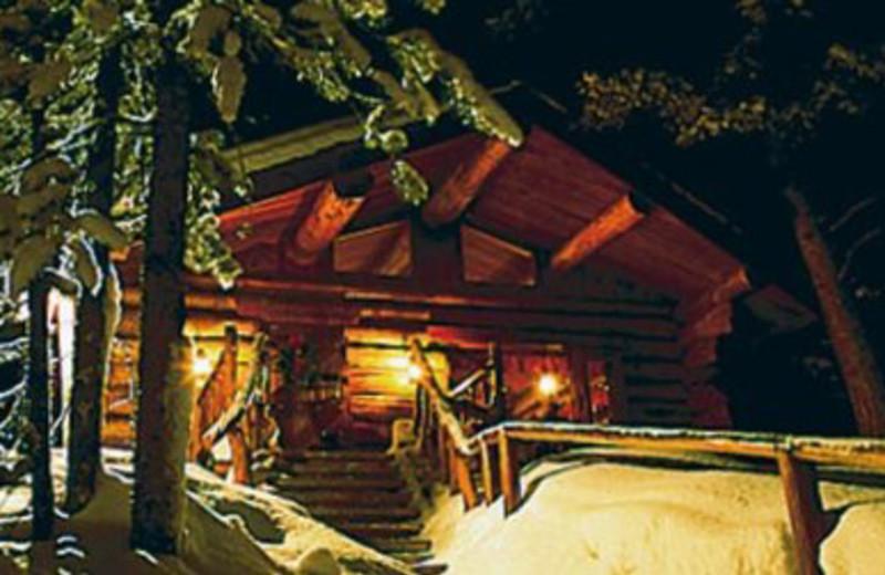 North Folk Cabin at Lone Mountain Ranch