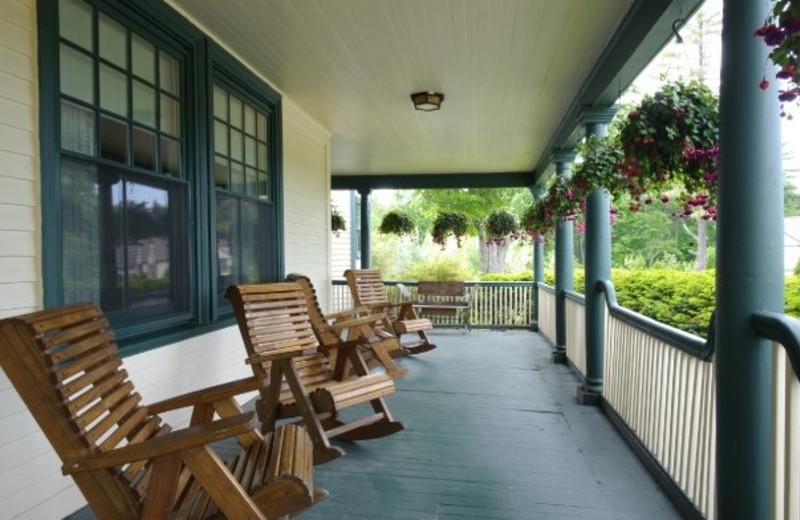 Deck view at Cranwell Resort.