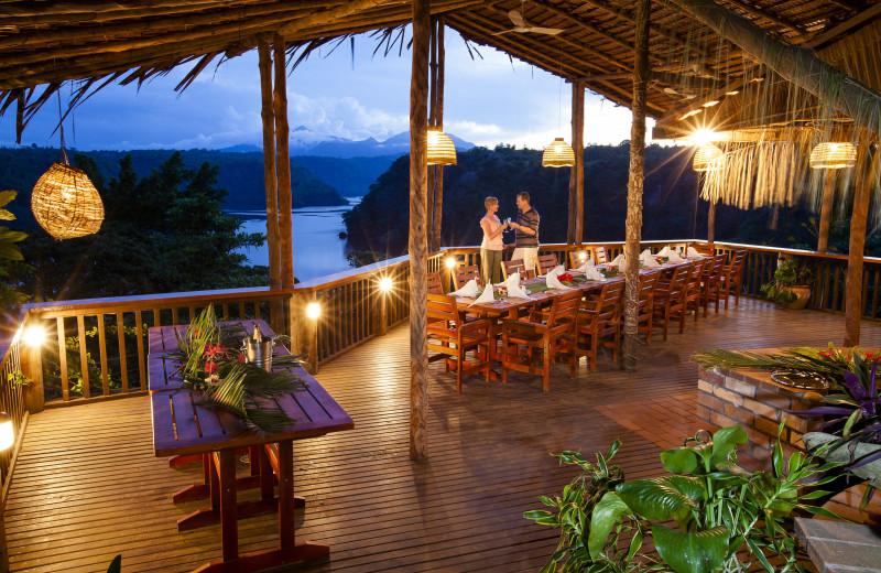 View from Tufi Dive Resort.