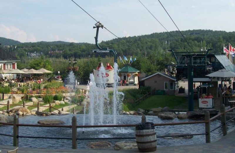 Area activities at Tremblant VIP Lodging.