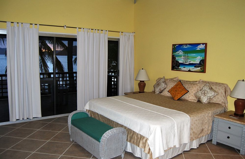 Guest room at Villas at Fort Recovery Estate.