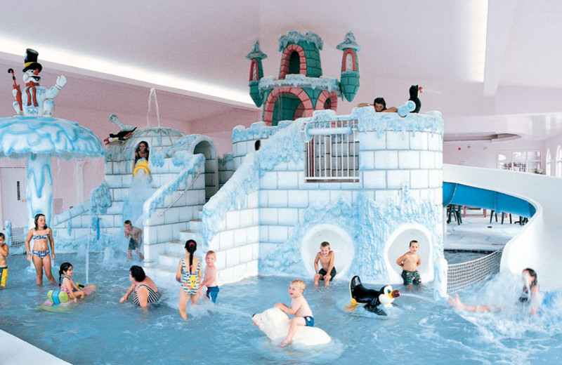 Indoor Waterpark at the Wintergreen Resort & Conference