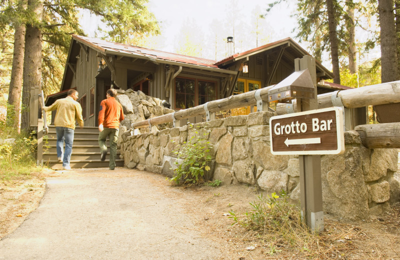 The Grotto Bar at Sleeping Lady.
