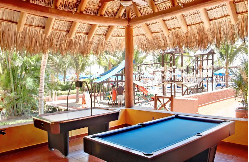 Game Room at  Barcelo Ixtapa Beach
