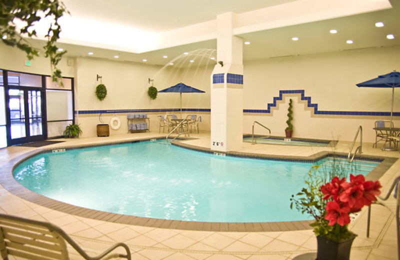 Indoor pool at Courtyard Tacoma Downtown.