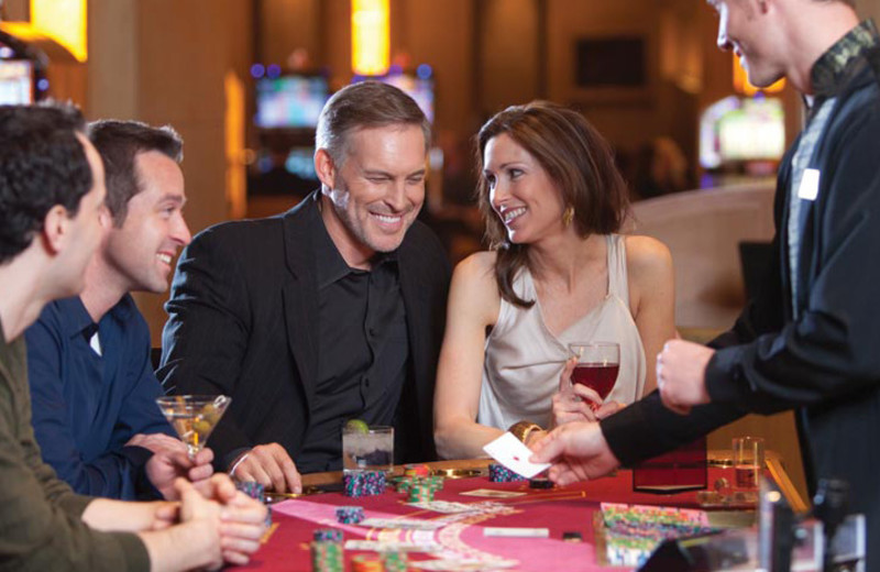 Playing poker at Hollywood Casino Tunica.