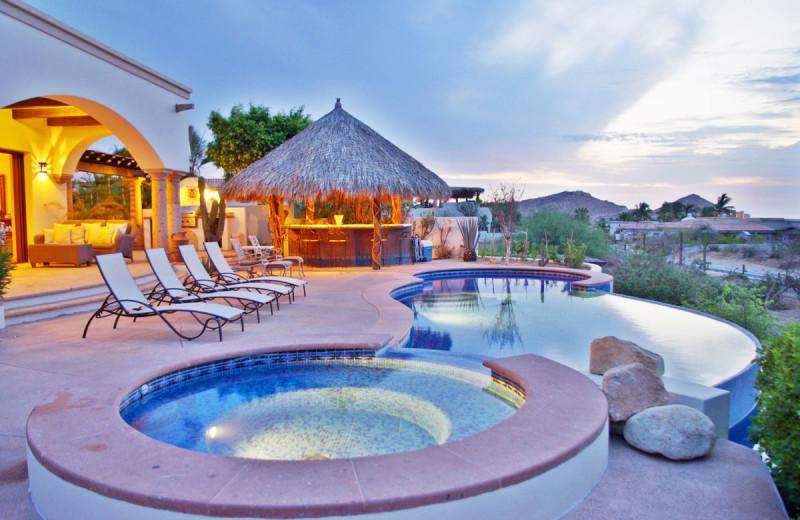 Rental pool at Lifestyle Villas LLC.