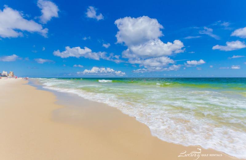 Beach at LuxuryGulfRentals.com.