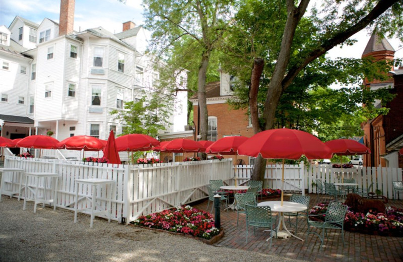 Patio at Red Lion Inn.