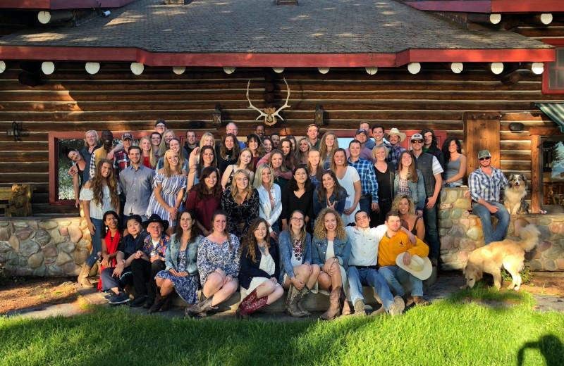 Groups at Averill's Flathead Lake Lodge.