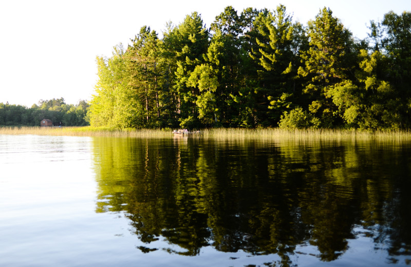 Lake view at White Eagle Resort.