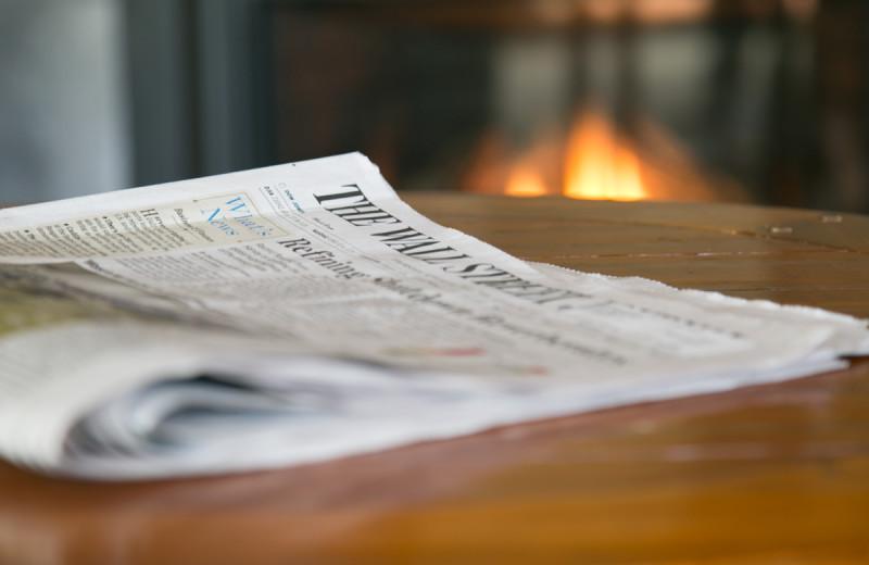 Paper at Silver Fox Inn.