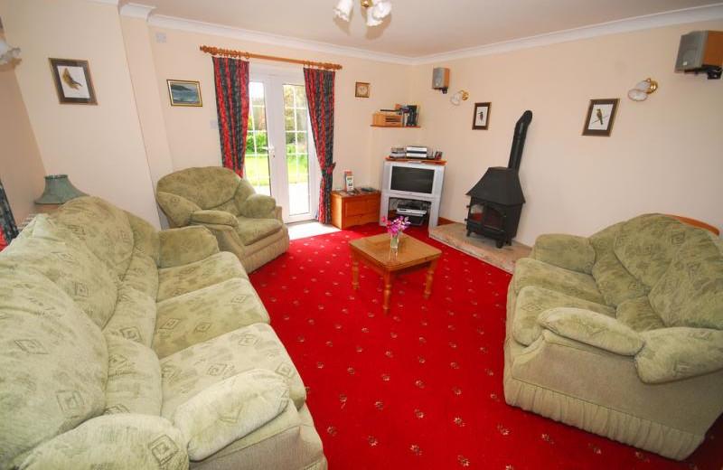 Living room at Trenona Farm.