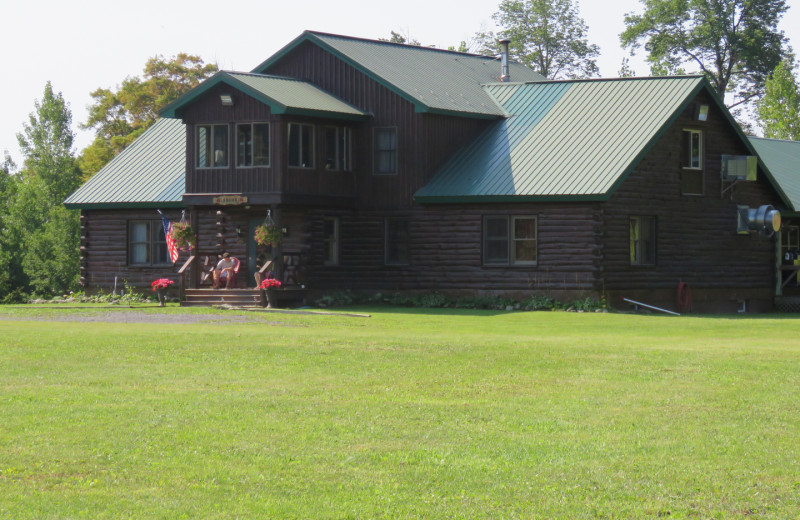 Exterior view of Tug Hill Resort.