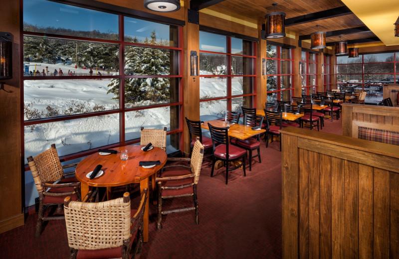 Dining at Bear Creek Mountain Resort.