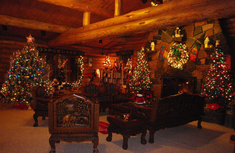 Warm and cozy for Christmas at Solbakken Resort!