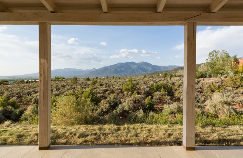 View from Adobe Zen House.