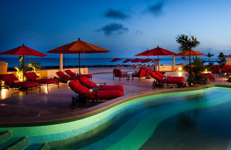 Outdoor pool at Ocean Two Resort & Residences.