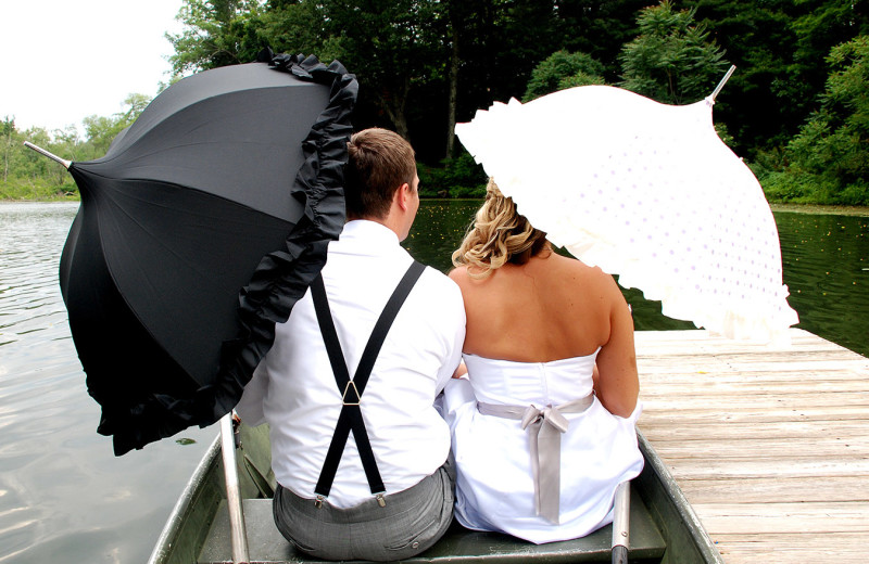 Weddings at Cove Haven Entertainment Resorts.