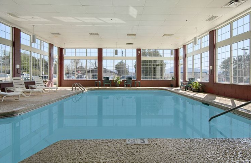 Indoor Swimming Pool at Ramada Pigeon Forge North