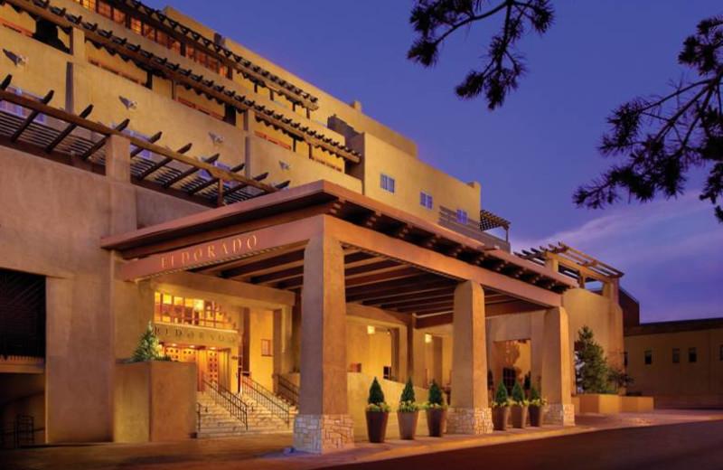 Exterior view of Eldorado Hotel.