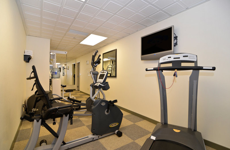 Fitness room at Best Western Bainbridge Island.