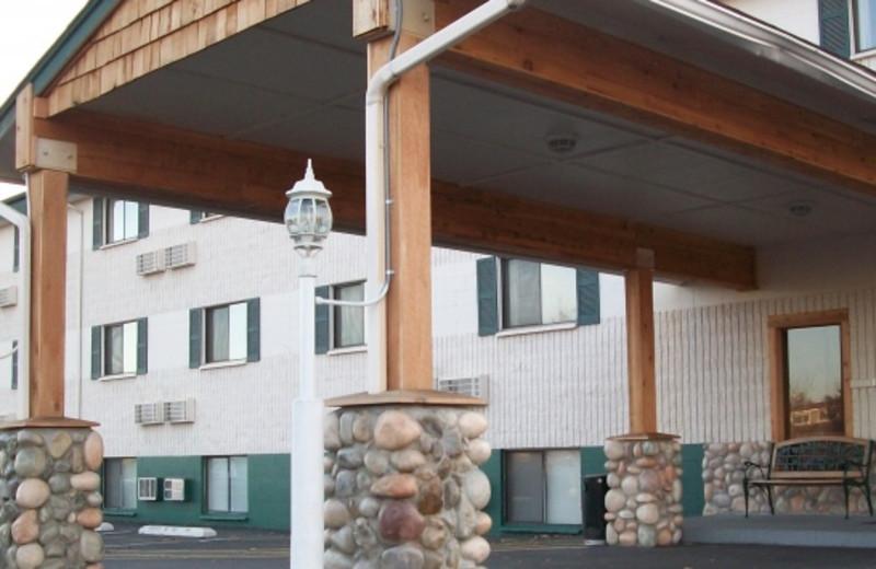 Exterior view of Guesthouse International Inn.