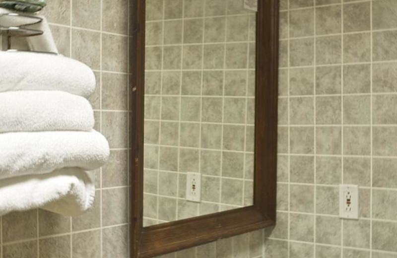 Guest bathroom at Days Inn - Seaside Heights.