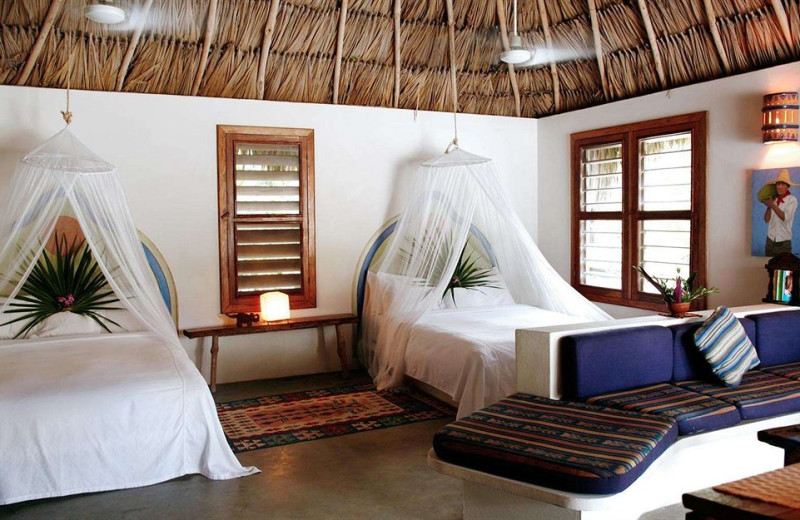 Guest room at Mata Chica.