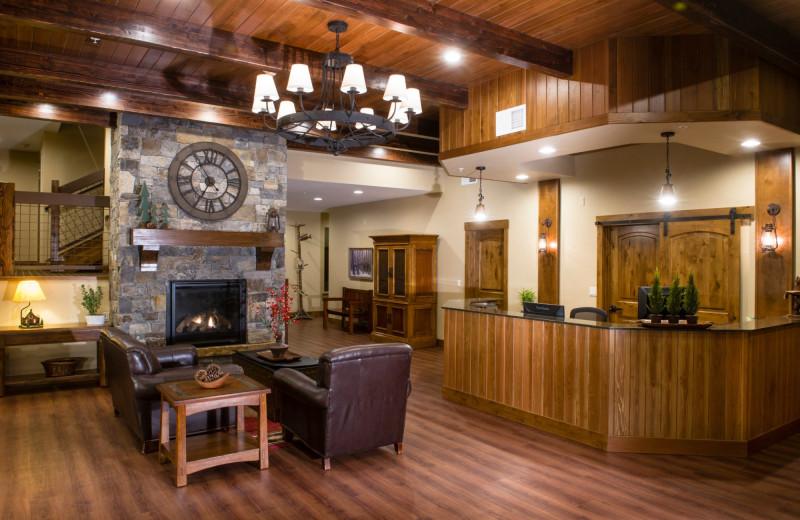 Lobby at Stoneridge Resort.