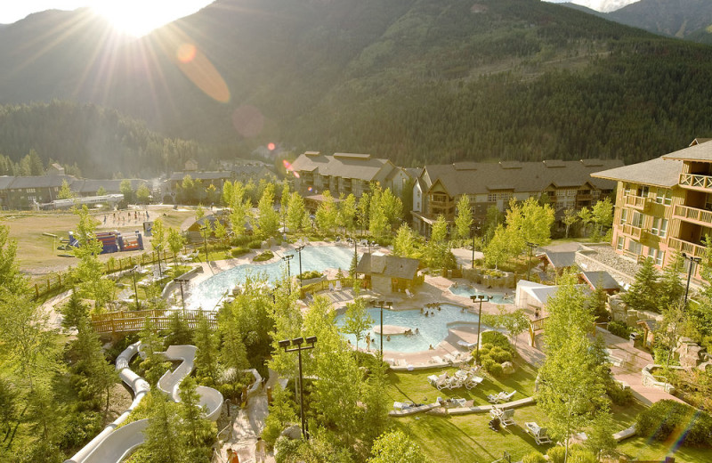 Exterior view of Panorama Mountain Resort.
