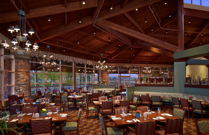 Dining at Deerhurst Resort.