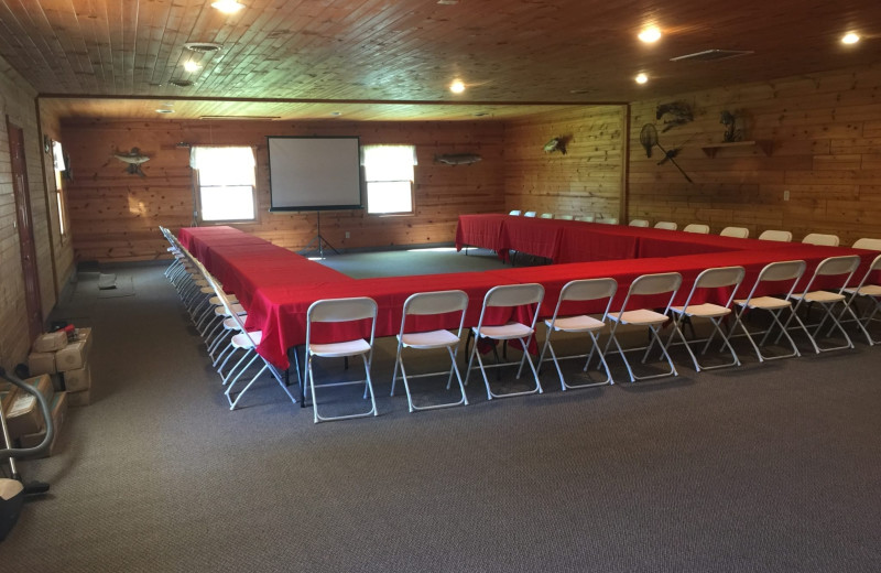 Conference room at The Red Door Resort.