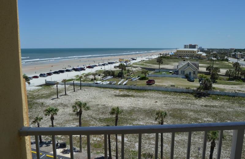 Balcony view at Fountain Beach Resort.
