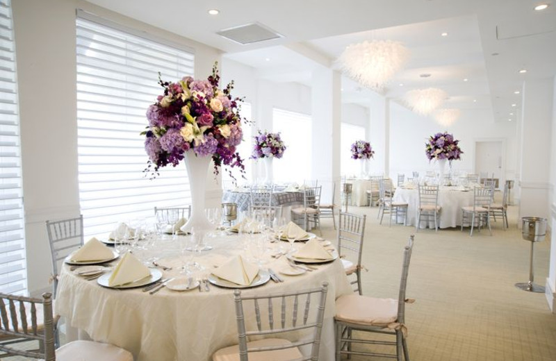 Wedding reception at The Seagate Hotel & Spa.