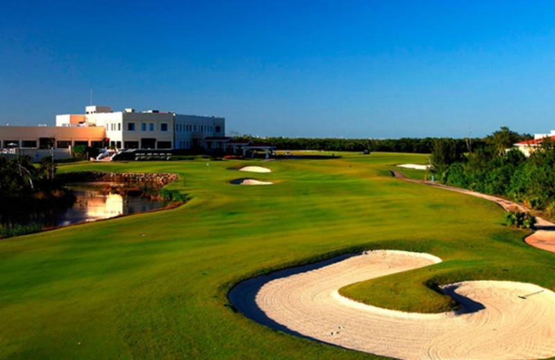 Golf course at Moon Palace Golf & Spa Resort.