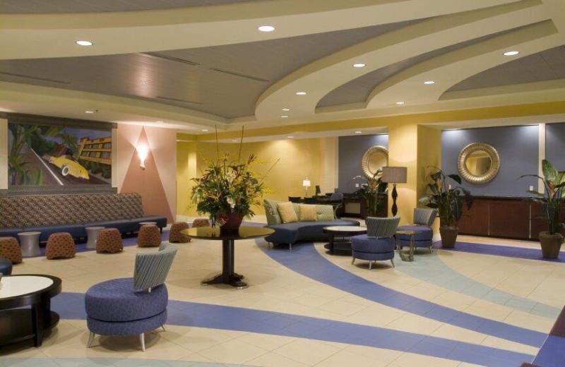 Lobby view at Wyndham Ocean Boulevard.