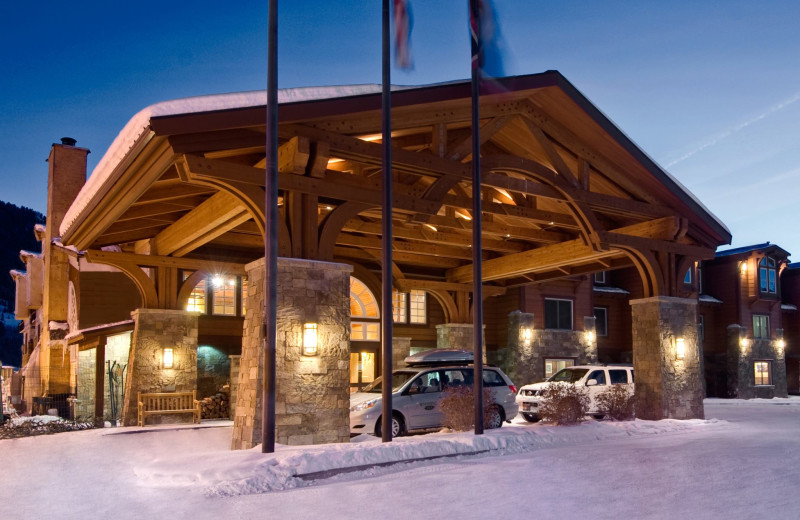 Exterior view of Wyoming Inn of Jackson Hole.