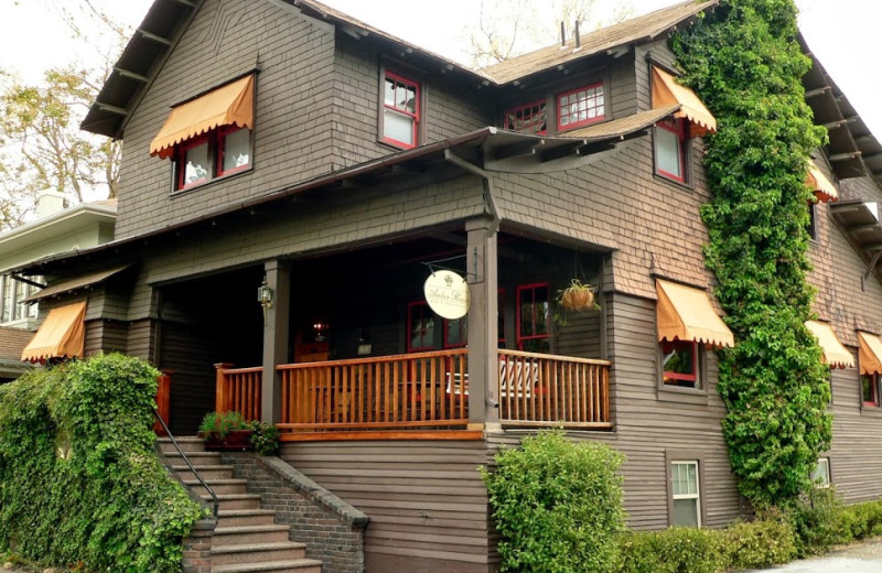 Exterior view of Amber House Bed and Breakfast Inn.