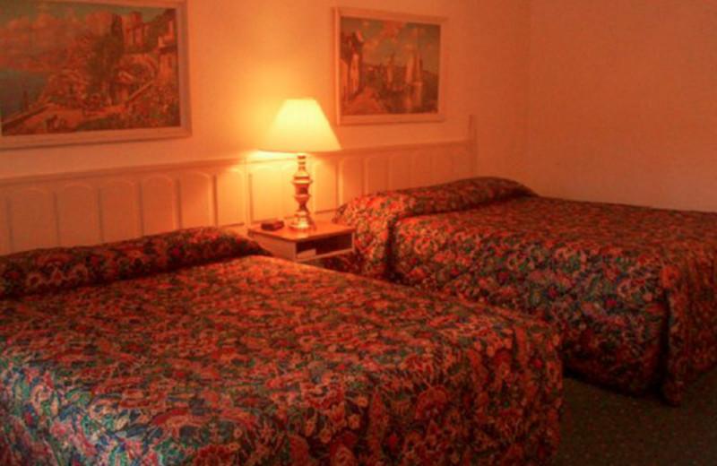 Two Queen Room at Ambassador Motor Lodge