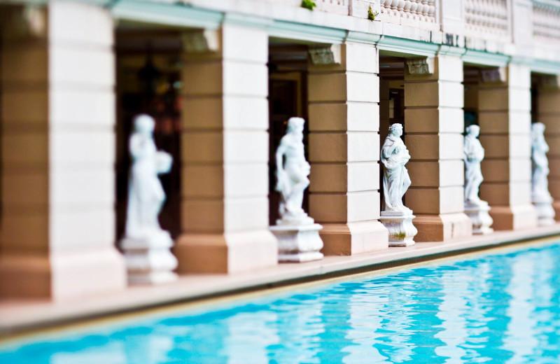 Outdoor pool at Biltmore Hotel.