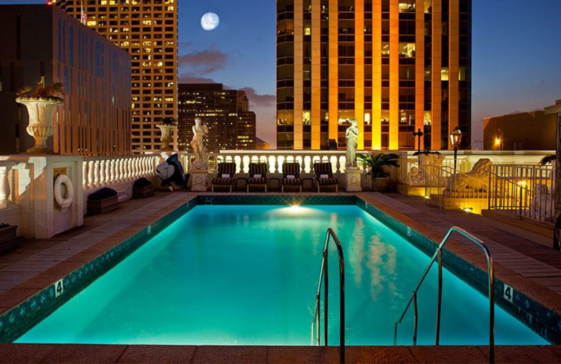 Rooftop Pool at Le Pavillon Hotel