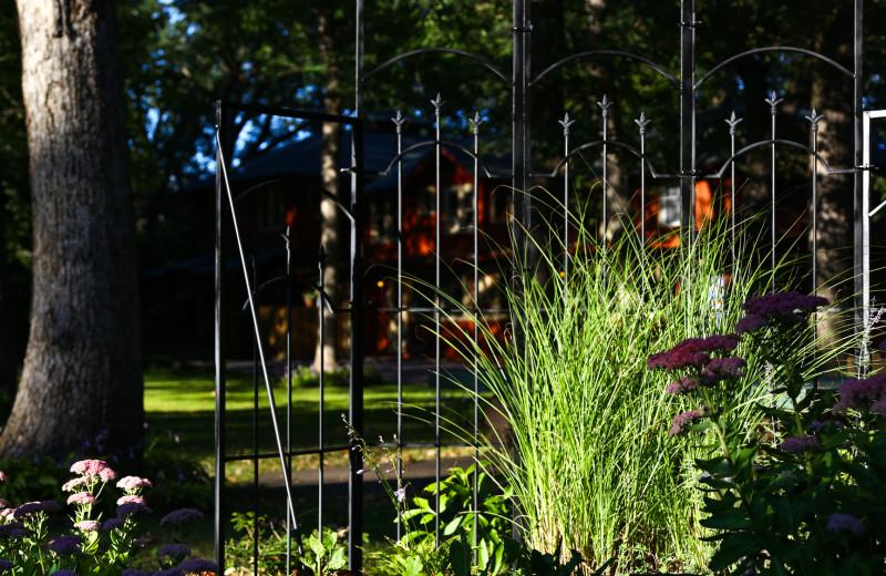 Garden at Birchcliff Resort.