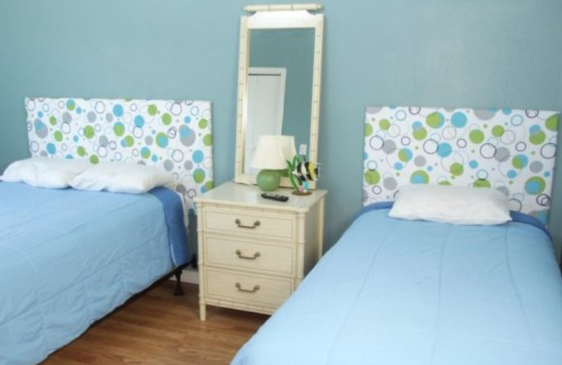 Guest Room at Affordable Vacation Rentals